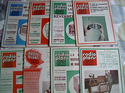 Radio Plans N°211 05/1965 * Electronique  Vintage Ampli Tubes