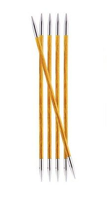 """Knitter's Pride  6"""" Royale Double Pointed Needles Set of 5 Size 0 - 11"""