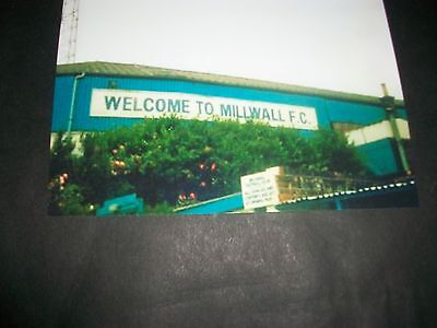 """MILLWALL FOOTBALL CLUB THE DEN Welcome to Millwall  1980s ? 6""""x4""""  Photo REPRINT"""