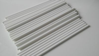 "12"" white plastic cake dowels support for cakes - Choose your Quantity"