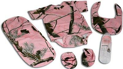 BABY Outfit PINK Camo Combo for infants Rivers edge 1543