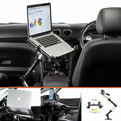 "Heavy Duty Car Van HGV Universal 13-17"" Laptop Notebook Stand Table Tray Desk"