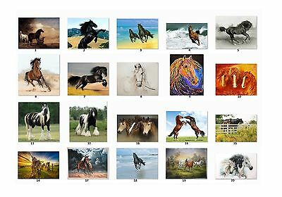 30 Personalized Return Address labels Horses Buy 3 get 1 free {h1}
