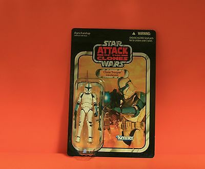 Star Wars Vintage Collection  - Aotc - Wave 17 - #vc109 - Clone Trooper - Moc