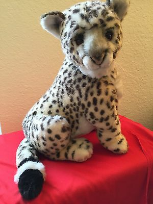 Large Vintage Beautiful Leopard Plush Cheetah Toy Designed by Jockline Italy