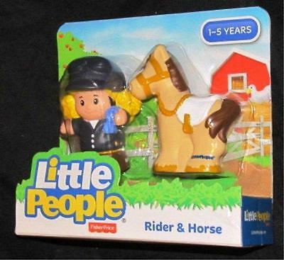 Little People Rider & Horse  NEW