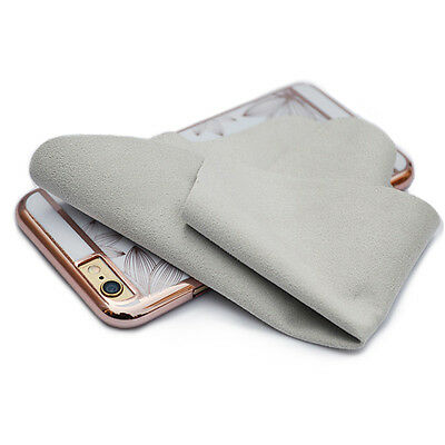 1*Double-Sided Cleaning Cloth For Phone Camera Lens Screen Glasses Eyeglasses AU