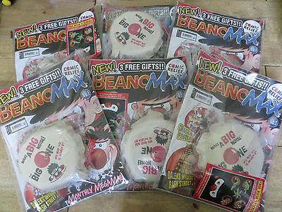 Beano Max - Issue No.1 - March 2007 + 3 Free Gift's - NEW SEALED Limited Stock
