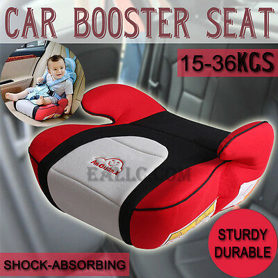 Red Safe Sturdy Baby Car Booster Seat Kid Children Fit 3 To 12 Years 15-36kg AU