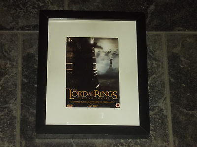 Lord of the rings the two towers-Original advert framed & mounted