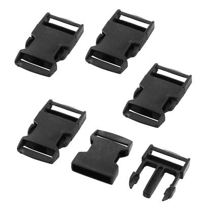 Outdoor Travel Backpack Bag Strap Side Quick Release Buckle 56mm Long 5pcs
