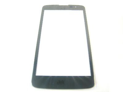 Front Glass (no inner LCD Display Touch Screen) for LG K7 X210DS~Black