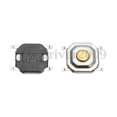 50X Waterproof Microswitch Tactile Push Button Switch Tact 5X5X1.5MM SMD 4 Pin