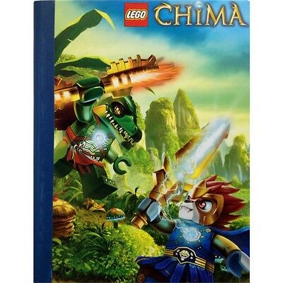 Lego Chima Cragger & Laval Wide Ruled Composition Book