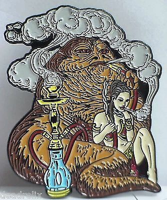 Hookah Smoking Jabba Star Wars  Marijuana, Dab , Grateful Dead Relix Pin