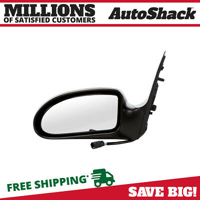Flat Black Power Side View Mirror Driver Left LH for 93-03 Ford Ranger Truck