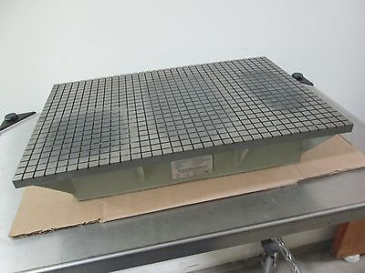 """Busch 1013G Cast Iron Surface/Lapping Plate, 12"""" x 18"""" x 4"""", .0002 Accuracy"""