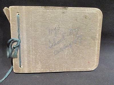 Westervelt College Student My School Day Autography 1920s/1930s Autograph Book
