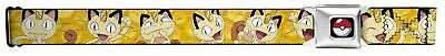 Pokemon Animated TV Series Meowth Poses Seatbelt Belt