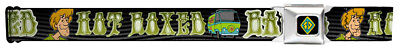 Scooby Doo Comedy Cartoon Series TV Show Hot Boxed Seatbelt Belt