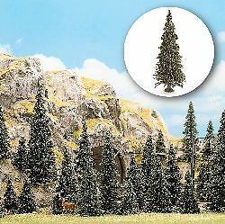 Busch N Scale Pine Tree With Roots Set (20) | Bn | 6576