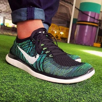 NEW  Mens NIKE FREE 4.0  FLYKNIT running trainers  Size 9.5