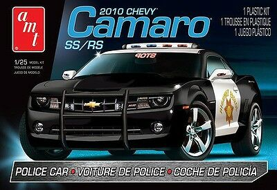 2010 Chevy Camaro SS/RS Police Car 1/25 scale skill 2 AMT plastic model kit#817