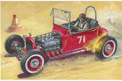 1929 'T' Rod, Hot Rod 1/24 scale Lindberg plastic model kit#72179