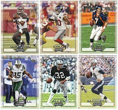 2016 Panini Playoff NFL Football - Base Cards - Pick From Card #'s 1-200