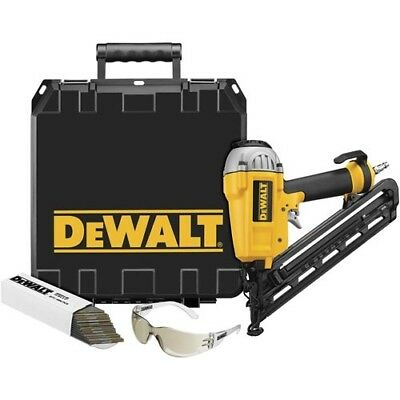 "DeWALT D51276K HD 1-2-1/2"" 15 Ga Finish Nailer Nail Gun"