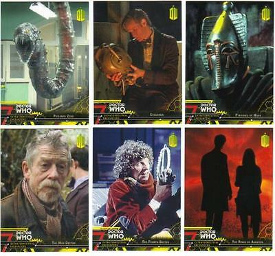 2016 Topps Doctor Who Extraterrestrial Encounters Yellow Parallel Card #'s 1-100