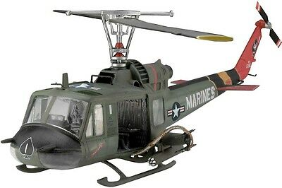 UH-1 Iroquois Huey Hog US Marines Helicopter 1/48 scale skill 4 Revell kit#4476