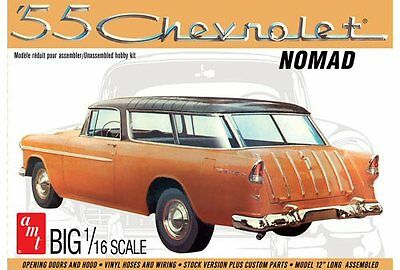 1955 Chevy Nomad Wagon 1/16 scale AMT plastic model kit#1005