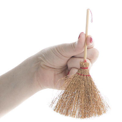 1 x WITCHES' ALTAR BESOM BROOM 155 mm Wicca Pagan Witch Goth CRAFT BROOM