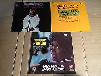 Mahalia Jackson - Great Songs Of Love And Faith / Nobody Knows / Welcome - 3 Lp