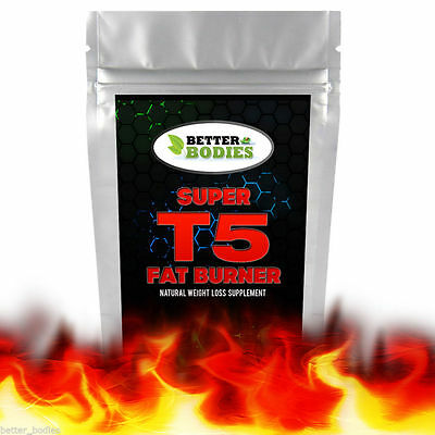 Very Strong T5 Diet Slimming Pills Tablets Fast Weight Loss Lose Fat