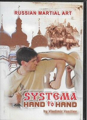 Systema Hand to Hand DVD Russian Martial Art By Vladimir Vasiliev FREE SHIPPING