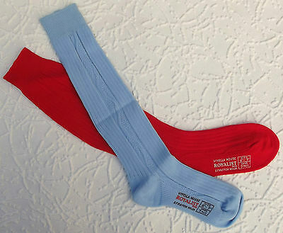 Childrens vintage socks 1960s Boys & girls school uniform ROYALIST red