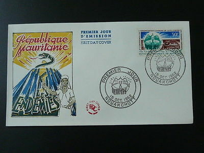 medicine health conference against big diseases FDC Mauritania 1962