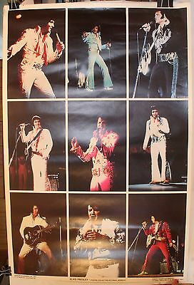 "1979 Elvis Presley Collector Pictorial Series 1 35 x 23"" Poster"
