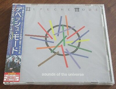 SEALED! Depeche MODE Japan PROMO CD Sounds Of The Universe OBI - more DM listed