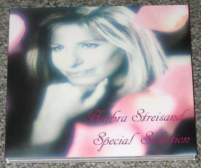 BARBRA STREISAND Japan PROMO ONLY 2 x CD set in delux digipack SPECIAL SELECTION
