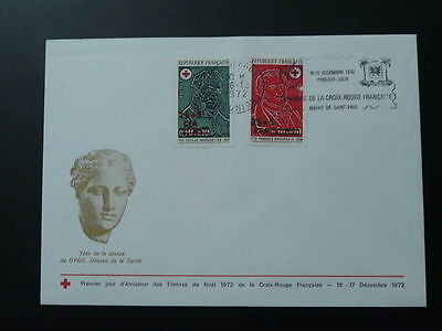 Red Cross 1972 FDC Reunion with special postmark