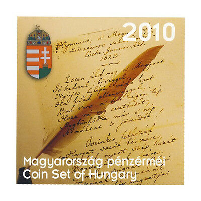 2010 Hungary Official Forint Brilliant Uncirculated Coin Set