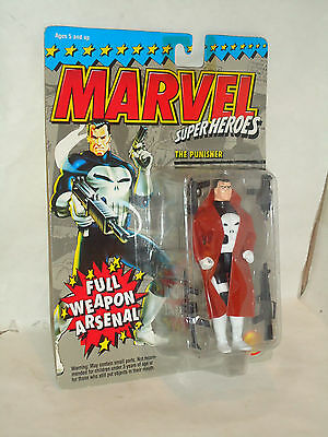 Toy Biz 1994, Marvel Super Heroes, The Punisher w/ Full Weapon Arsenal, T