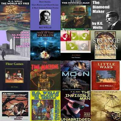 eBay's Ultimate H.G.Wells Collection on mp3 audio DVD