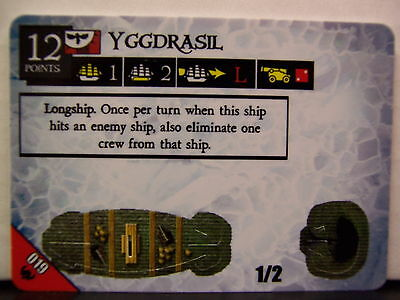 Pirates of the Frozen North - Yggdrasil 019 Longship