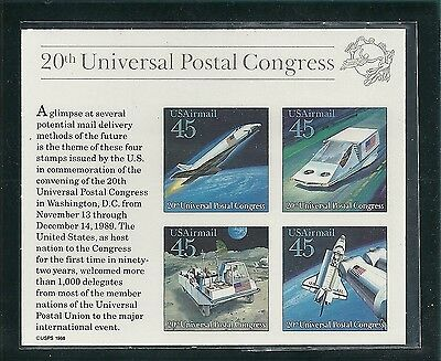 C126***futuristic Mail Delivery***mnh S/s***airmail**postal Congress*