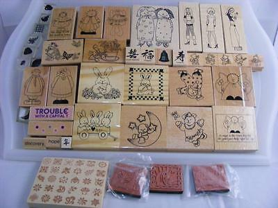 Large Collection of Rubber Stamps (Lot 3)