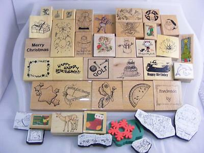 Large Collection of Rubber Stamps (Lot 1)